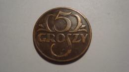 MONNAIE POLOGNE 5 GROSZY 1936 - Polen