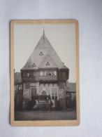 Goslar Gildehaus, Serie Der Harz Nr. 6392, Photo Auf Karton Geklebt, Verlag Von Römmler & Jonas Dresden 1893 - Fotos