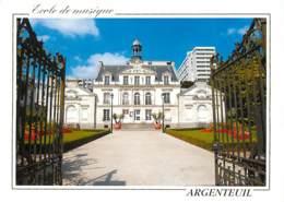 95 - Argenteuil - Ecole De Musique - Voir Scans Recto-Verso - Argenteuil
