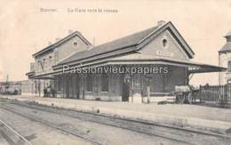 ROCOUR 1916 LA GARE VERS LE RESEAU (Feldpost) - Luik
