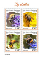 Djibouti 2019  Fauna Bees  S201910 - Yibuti (1977-...)