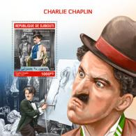 Djibouti 2019   Charlie Chaplin S201910 - Djibouti (1977-...)