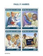 Djibouti 2019 Paul P. Harris , Rotary International S201910 - Djibouti (1977-...)