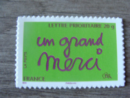 """Timbre De Message """"un Grand Merci"""" - Autoadhésif - N° 205 (lettre Prioritaire 20g) - Année 2008 - Neuf** - Adhésifs (autocollants)"""