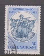 Vatican City S 744 1983 500th Birth Anniversary Of Raffaello Sanzio.50 Lire Used - Used Stamps