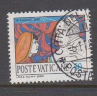 Vatican City S 768 1984 Journeys Of Pope John Paul II .50 Lire Used - Vatikan