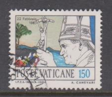 Vatican City S 770 1984 Journeys Of Pope John Paul II , 150 Lire Used - Vatikan