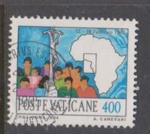 Vatican City S 773 1984 Journeys Of Pope John Paul II , 400 Lire Used - Used Stamps