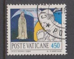 Vatican City S 774 1984 Journeys Of Pope John Paul II , 450 Lire Used - Used Stamps