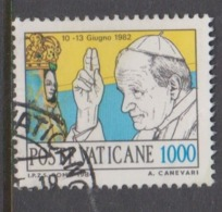 Vatican City S 776 1984 Journeys Of Pope John Paul II ,1000 Lire Used - Used Stamps