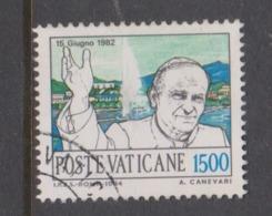Vatican City S 777 1984 Journeys Of Pope John Paul II ,1500 Lire Used - Vatikan