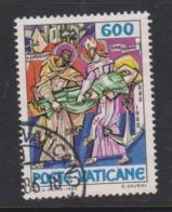 Vatican City S 787 1985 1100th Death Anniversary Of St Methodius.600 Lire Used - Vatican