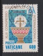 Vatican City S 791 1985 43rd Eucharistic Congress. 600 Lire Used - Vatican