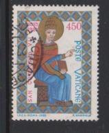 Vatican City S 794 1985 900th Death Anniversary Of St Gregory VII.,450 Lire Used - Vatikan