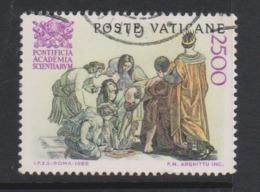 Vatican City S 814 1986 Pontifical Academy Of Science 50th Anniversary.2500 Lire,used - Vatikan