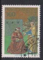 Vatican City S 815 1987 Conversation Of St Augustine .300 Lire Used - Vatikan