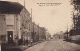 I170 - 77 - MAISON-ROUGE-EN-BRIE - Seine-et-Marne - Bureau De Poste Et Route De Paris - Autres Communes