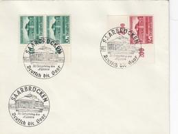 Blanko Sonderstempelbeleg 1939: Saarbrücken: 50. Geburtstag Des Führers - Alemania