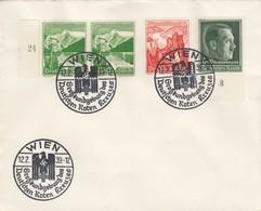 Blanko Sonderstempelbeleg 1939: Wien: Großkundgeb. Des  Deutschen Roten Kreuzes - Deutschland