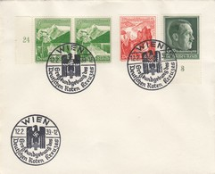 Blanko Sonderstempelbeleg 1939: Wien: Großkundgeb. Des  Deutschen Roten Kreuzes - Alemania