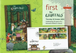 ROYAL MAIL COMMUNICATION STAMPS TIMBRES EMISSION THE GRUFFALO BELOVED CHILDRENS CLASSIC - Cuentos, Fabulas Y Leyendas