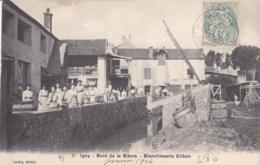 ESSONNE IGNY BORD DE LA BIEVRE BLANCHISSERIE GILBON - Igny
