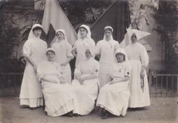 PHOTOGRAPHIE HOPITAL MILITAIRE 1914 /1918 INFIRMIERES ET RELIGIEUSES - War, Military