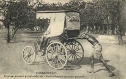 PONFICHERY Pousse Pousse Pondicherien RV - Inde