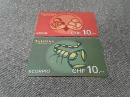 Switzerland - 2 Nice Phonecard - Schweiz