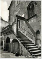 TUSCANIA  (VT)   PALAZZETTO  CON  LOGGIA   E  BIFORA              (NUOVA) - Italy