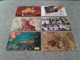 Malaysia - 6 Nice Phonecard - Malaysia