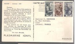24761 - Publicitaire PLASMARINE - 1946-60: Poststempel