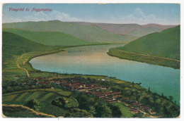 Visegrad és Nagymaros. Postally Used, Long Message, ± 1920 - Ungheria