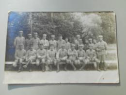 GUERRE SOUVENIR DE L'INSTRUCTION A BLEAU ( FONTAINEBLEAU ) - Regimente