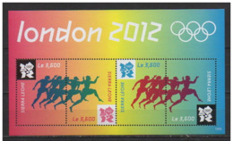 SIERRA LEONE 2012 SPORT OLYMPIC GAMES MNH MI. 5632 - 35 - Estate 2012: London