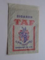 Sigaren TAF Opgericht In 1872 ( Sachet / Zakje ) > ( Zie / Voir / See Photo ) ! - Sigaren - Toebehoren