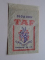 Sigaren TAF Opgericht In 1872 ( Sachet / Zakje ) > ( Zie / Voir / See Photo ) ! - Around Cigars