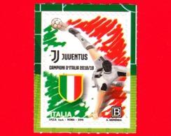 Nuovo - MNH - ITALIA - 2019 - Juventus Squadra Vincitrice Del Campionato Di Calcio Di Serie A  – Logo - B - 2011-...: Mint/hinged