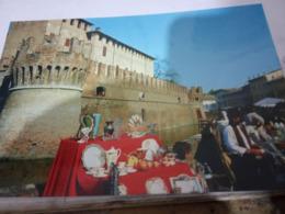 FONTANELLATO  ROCCA E Mercato  Mercatino SOPRAMMOBILE  A CONCHIGLIA  SHELL  N1994 HG1865 - Parma