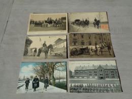 Beau Lot De 20 Cartes Postales De L' Armée Belge Soldats Soldat  Mooi Lot Van 20 Postkaarten Leger Soldaten Soldaat - Postkaarten