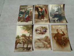 Beau Lot De 20 Cartes Postales De Fantaisie Soldats Soldat  Mooi Lot Van 20 Postkaarten Fantasie Leger Soldaten Soldaat - Postkaarten