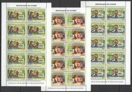 BB029 2007 DE GUINEE FAUNA ENDANGERED ANIMALS DISPARITION SCOUTISM !!! 10SET MNH - Briefmarken