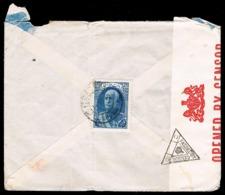 Iran • 1940's • Censored Cover To Australia • Pahlavi 1.50 Blue - Iran