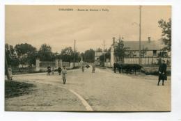 CPA  02 : CHASSEMY  Route De Braine à Vailly   A  VOIR   !!!! - France