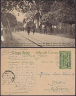 "CONGO EP VUE 5C VERTEST AFRICAIN  ""N°50 ENTREE DES BELGES A TABORA""  (BE) DC-4650 - Stamped Stationery"