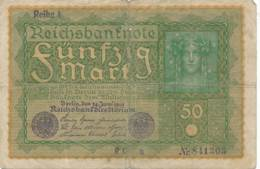 Numismatique -B3729 -Allemagne 50 Mark 1919 ( Catégorie,  Nature,  état ... Scans)-Envoi Gratuit - 50 Mark