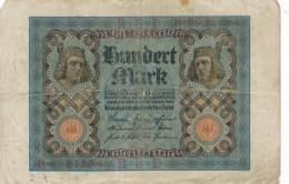 Numismatique -B3729 -Allemagne 100 Msark 1920( Catégorie,  Nature,  état ... Scans)-Envoi Gratuit - [ 3] 1918-1933 : Repubblica  Di Weimar