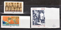 France  514a 520a 524  2011 Tissus Et Marie Curie Neuf ** TB MNH Sin Charnela - France