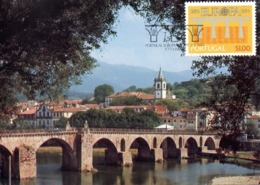 PORTUGAL. N°1609 De 1984 Sur Carte Maximum. Europa'84. - Europa-CEPT