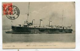 CPA  Bateau : Croiseur Le Friant    A  VOIR  !!!!!! - Warships